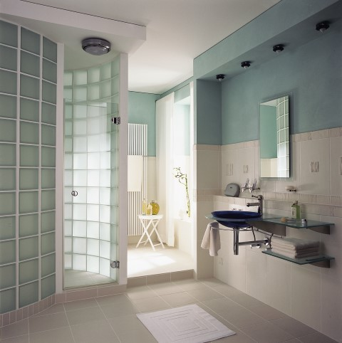 Glass Block Bathroom Part 46