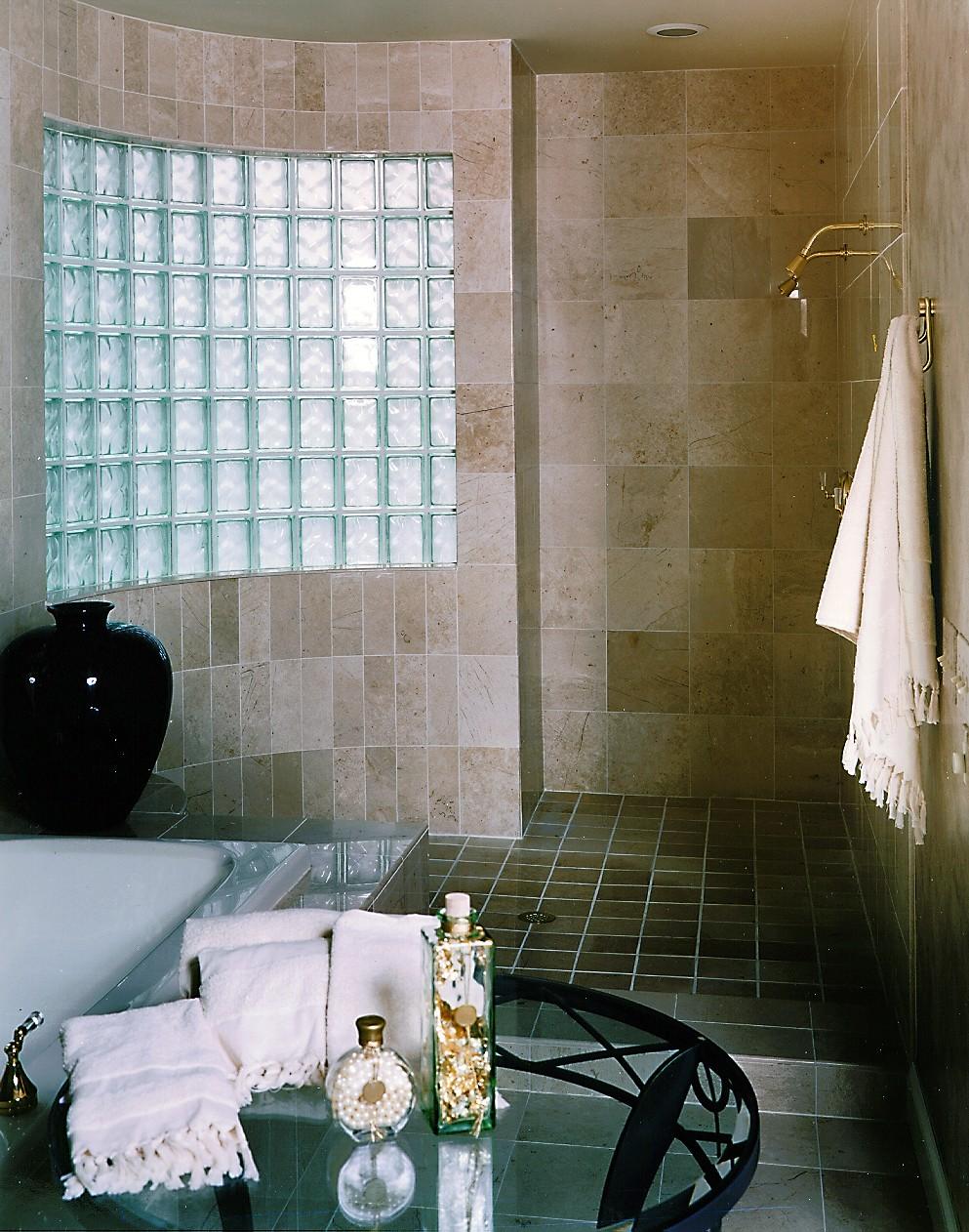 Glass For Bathroom Bathrooms Pittsburgh Glass Block