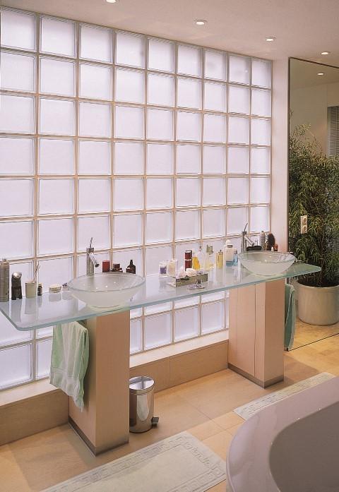 glass block furniture. Glass Block Partitions Furniture