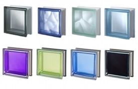 Colored Glass Block
