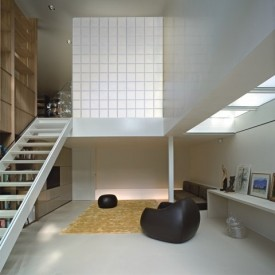 Glass Block Living Room