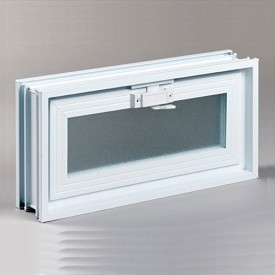 Fresh Air Glass Block Hopper Vent