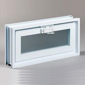 Fresh Air Glass Block Hopper Vent