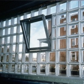 Commercial Glass Block Application